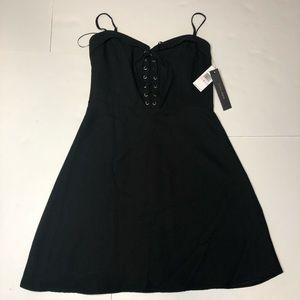 NWT Cynthia Steffe mini black dress Sz 6